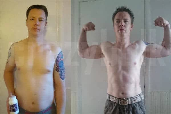 Trenorol before and after results - Carl